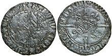 VLAANDEREN-GRAAFSCHAP-Karel-de-Stoute-1467-1477-Dubbele-Groot-Vierlander-2.86g.-VanHoudt-33