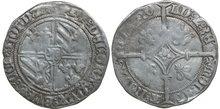HOLLAND-GRAAFSCHAP-Philips-de-Goede-1419-1467-Dubbele-Groot-Vierlander-3.04g.--vGH-9-4