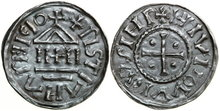 CAROLINGIANS--Louis-I-the-Pious-814-840--Denar-1.54g.-M-&-G-472
