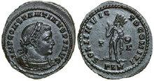 CONSTANTINUS-I-307--337-AD.-Æ-Follis-3.79g.-RIC-121a