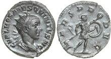 HOSTILIANUS-Son-of-Trajanus-Decius-250-251-AD.-AR-Antoninianus-3.37g.-RIC-176a