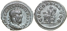 PUPIENUS-238-AD.--AR-Denarius-3.32g.-RIC-1