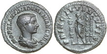 DIADUMENIANUS-Son-of-Macrinus-217-218-AD.--AR-Denarius-3.24g.-RIC-102