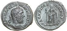 MACRINUS-217-218-AD.--AR-Denarius-3.34g.-RIC-92