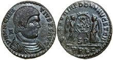 MAGNENTIUS-350-353-AD.-Æ-Maiorina-4.56g.-RIC-136-Extremely-Fine-Vorzüglich