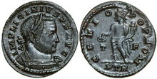 LICINIUS-I-308-324-AD.-Æ-Follis-4.33g.-RIC-58-Extremely-Fine-Vorzüglich