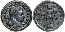 LICINIUS-I-308-324-AD.-Æ-Follis-4.44g.-RIC-845b-Extremely-Fine-Vorzüglich