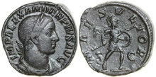 SEVERUS-ALEXANDER-222-235-AD.-Æ-Sestertius-26.66g.-RIC-635-Near-Extremely-Fine-Fast-Vorzüglich