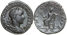 GORDIANUS-III-238-244-AD.-Æ-Sestertius-17.30g.-RIC-303a-Near-Extremely-Fine-Fast-Vorzüglich
