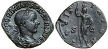 GORDIANUS-III-238-244-AD.-Æ-Sestertius-19.04g.-RIC-299a-Near-Extremely-Fine-Fast-Vorzüglich