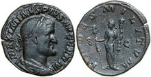 MAXIMINUS-I-235-238-AD.-Æ-Sestertius-22.64g.-RIC-78-Good-Very-Fine-Gutes-Sehr-Schön