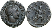 SEVERUS-ALEXANDER-222-235-AD.-Æ-Sestertius-18.16g.-RIC-635-Near-Extremely-Fine-Fast-Vorzüglich