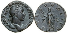 SEVERUS-ALEXANDER-22-235-AD.-Æ-Sestertius-18.04g.-RIC-648-Near-Extremely-Fine-Fast-Vorzüglich