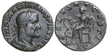 MAXIMINUS-I-235-238-AD.-Æ-Sestertius-24.13g.-RIC-64-Near-Extremely-Fine-Fast-Vorzüglich