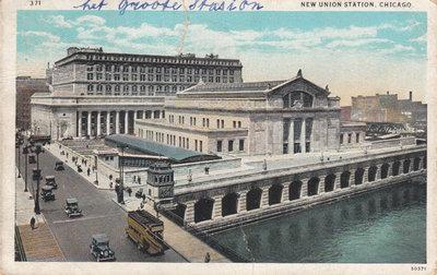 CHICAGO - New Union Station