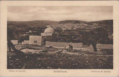 BETLEHEM - Tomb of Rachel