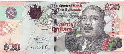 BAHAMAS P.74 - 20 Dollars 2006 UNC