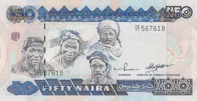 Nigeria P 27d 50 Naira 2001 Unc