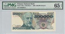 POLAND-P.156a-500.000-Zlotych-1993-PMG-65-EPQ