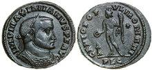 MAXIMIANUS-286-305-AD.-Æ-Follis-10.45g.-RIC-174-Near-Extremely-Fine