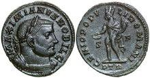 GALERIUS-293-305-AD.-Æ-Follis-10.35g.-RIC-594b-Extremely-Fine