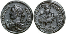 LICINIUS-I-308-324-AD.--Æ-Follis-3.23g.-RIC-212--Extremely-Fine