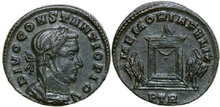 CONSTANTIUS-I-293-305-AD.--Æ-Follis-7.48.-RIC-789-Extremely-Fine