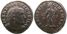 Galerius.-As-CaesarAD-293-305.-Æ-Follis-27mm-10.35-g.-Trier