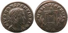 Divus-Constantius-I.Died-AD-306.-Æ-Follis-25mm-7.48-g.-Trier