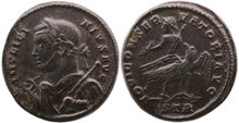 Licinius-I.AD-308-324.-Æ-Follis-17mm-3.23-g.-Trier